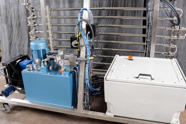 NiTech Pilot-scale high pressure - CE marking motor