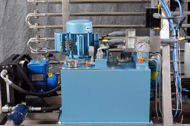 NiTech Pilot-scale high pressure - CE marking motor1