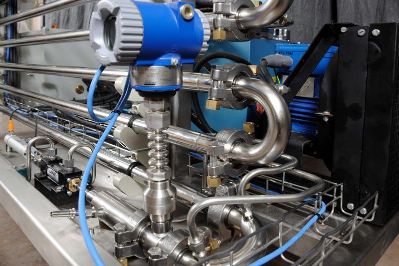 NiTech Pilot-scale high pressure - Motor