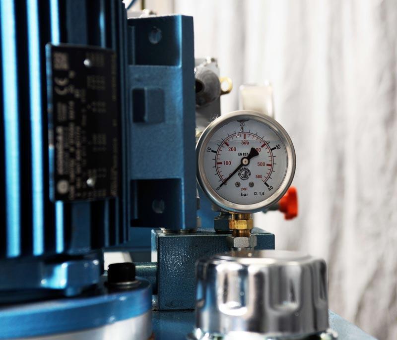 NiTech Pilot-scale high pressure - Pressure gauge